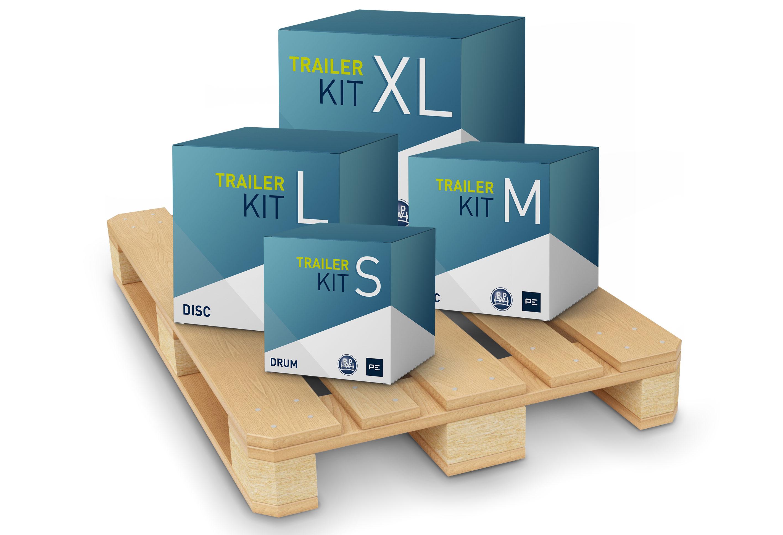 """""""Trailer Kits"""" von BPW und PE"""