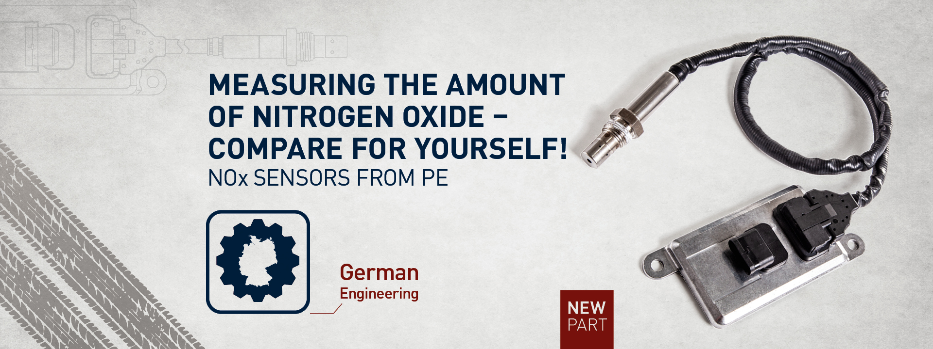 MEASURE THE AMOUNT OF NITROGEN OXIDE, COMPARE FOR YOURSELF!