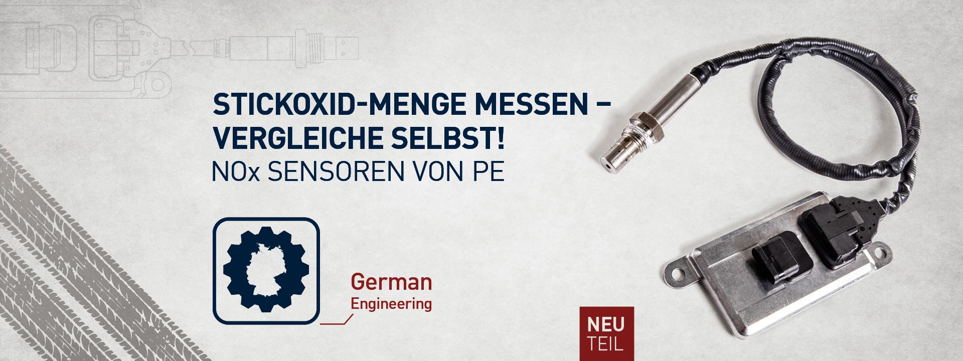 Stickoxid-Menge messen, vergleiche selbst!